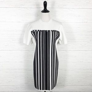 Alexander Wang • Barcode Logo T-Shirt Mini Dress